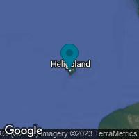 Lagekarte von Helgoland