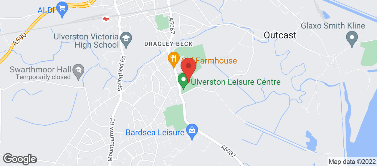 Ulverston Leisure Centre location and directions