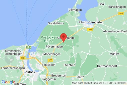 Karte Mönchhagen
