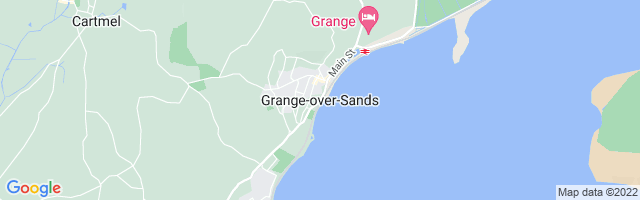 Map Of Grange-over-Sands