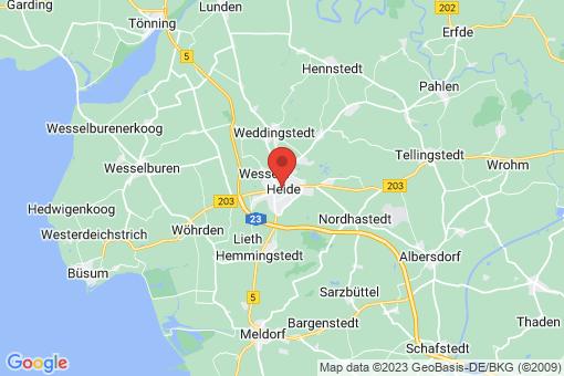 Karte Heide