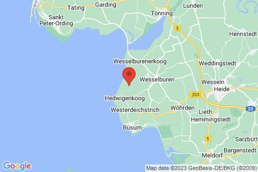 Karte Hellschen-Heringsand-Unterschaar