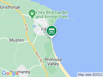 A static map of Waves of Waste beach clean at Filey South (25 July)