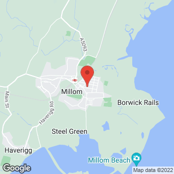 Map of Bargain Booze Wellington Street at 29 Wellington Street, Millom, Cumbria LA18 4DF