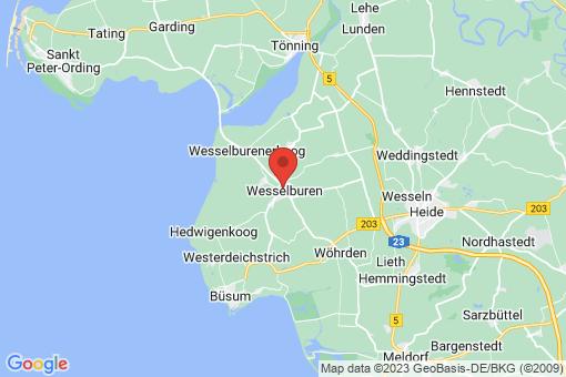 Karte Wesselburen
