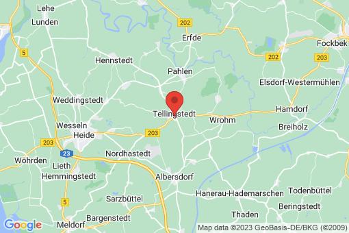 Karte Tellingstedt