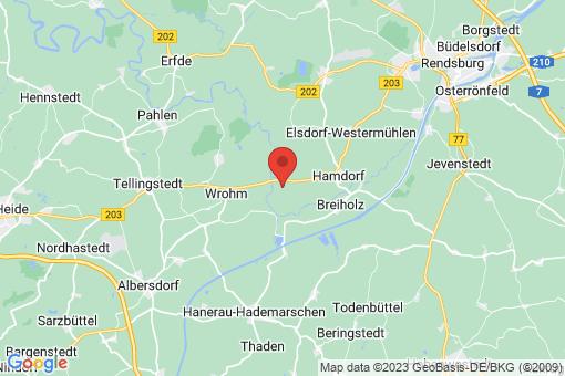 Karte Prinzenmoor