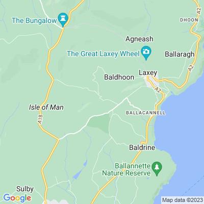 Ballalheannagh Location