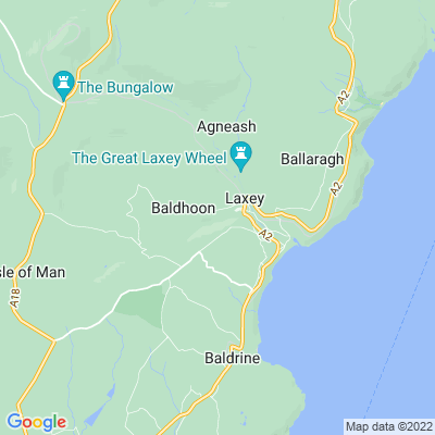 Laxey Glen Location