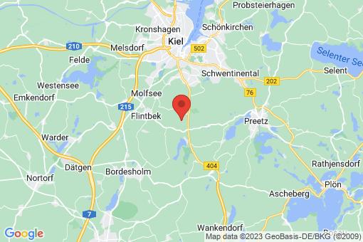 Karte Klein Barkau