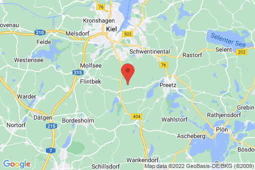 Karte Großbarkau