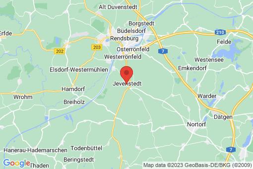 Karte Jevenstedt