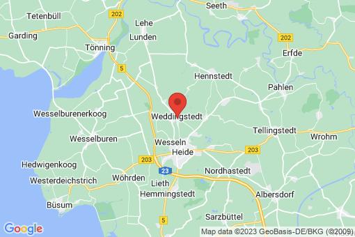 Karte Weddingstedt