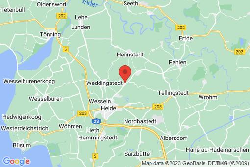 Karte Süderheistedt