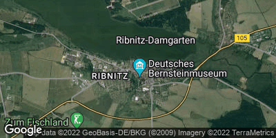 Google Map of Ribnitz-Damgarten