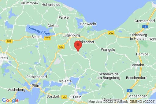 Karte Högsdorf