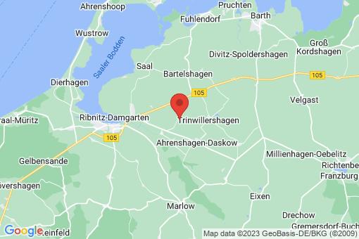 Karte Ahrenshagen-Daskow