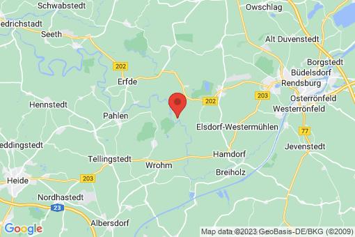 Karte Friedrichsgraben