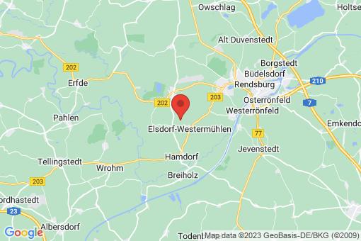 Karte Elsdorf-Westermühlen