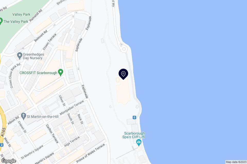 South Bay, Scarborough, YO11 2HD map