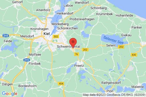 Karte Raisdorf