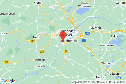 Karte Westerrönfeld