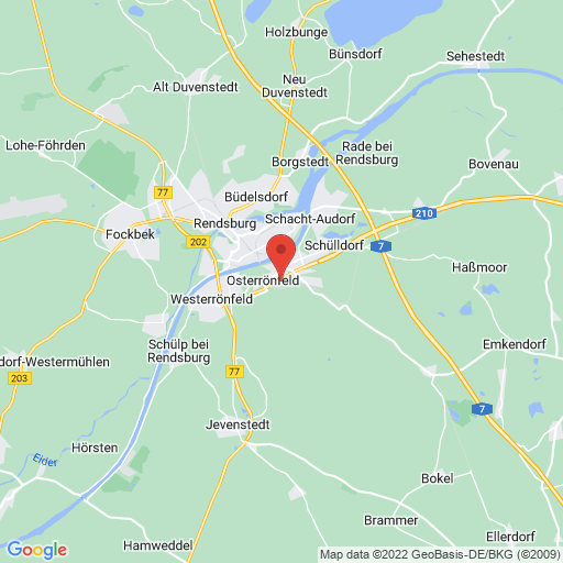 VR Jugend-Cup in Osterroenfeld, Germany map