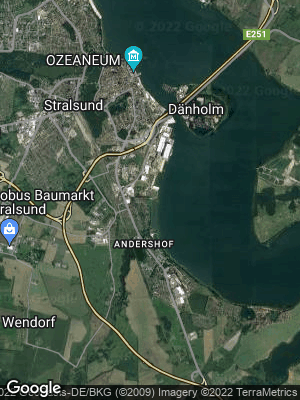 Google Map of Dänholm