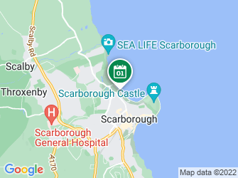 A static map of Waves of Waste beach clean at North Bay, Scarborough (5 December)