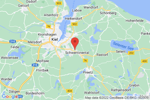 Karte Schwentinental