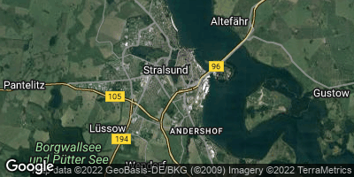 Google Map of Stralsund