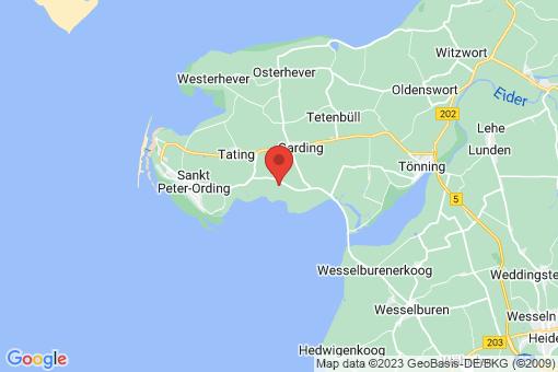 Karte Grothusenkoog