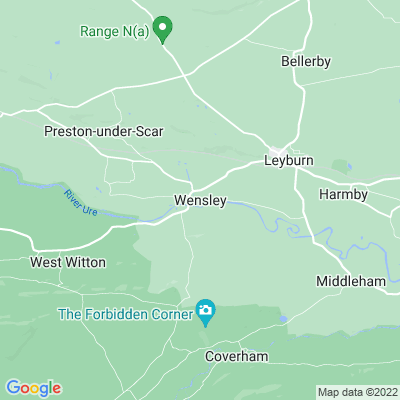 Bolton Hall, Wensley Location