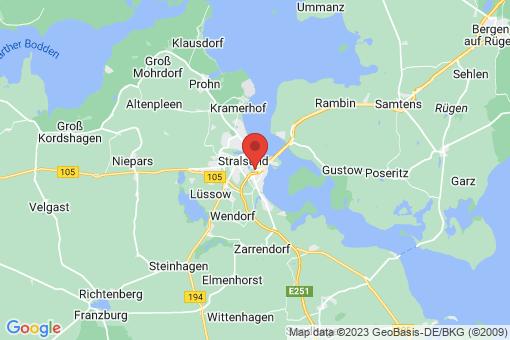 Karte Stralsund