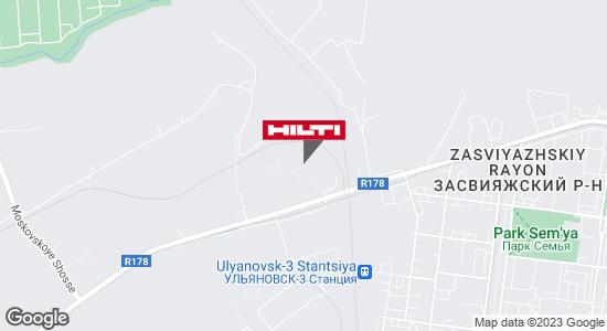 Региональный представитель Hilti в г. Ульяновск