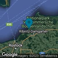 Lagekarte von Dierhagen (Ostseebad) OT Strand