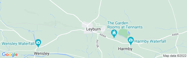 Map Of Leyburn