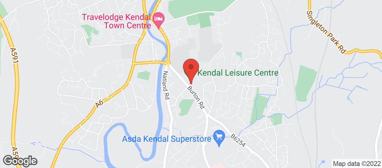 Kendal Leisure Centre location and directions