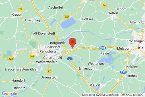 Karte Ostenfeld