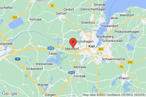 Karte Melsdorf