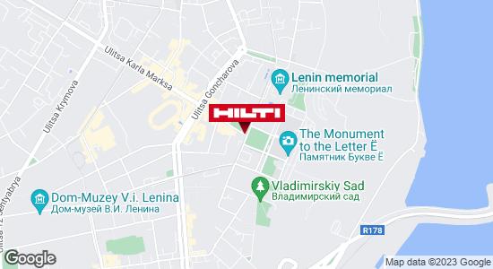 Get directions to Региональный представитель Hilti в г. Ульяновск