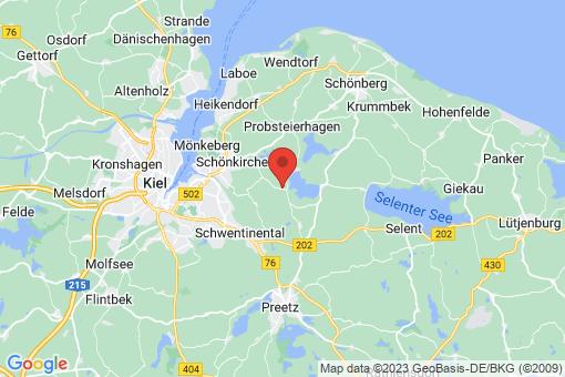 Karte Dobersdorf