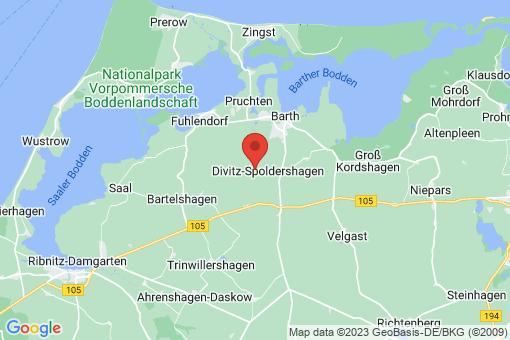 Karte Divitz-Spoldershagen