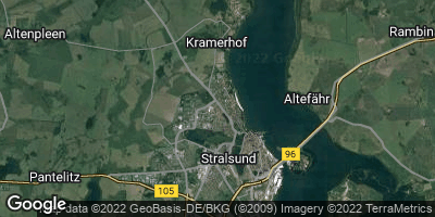 Google Map of Kniepervorstadt