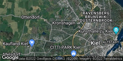 Google Map of Kronshagen