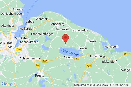 Karte Fargau-Pratjau