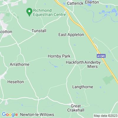 Hornby Castle, Northallerton Location