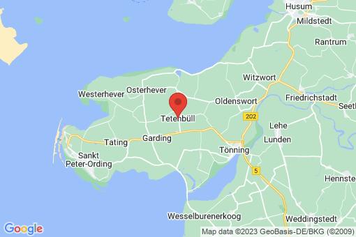 Karte Tetenbüll