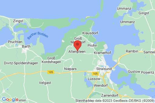 Karte Altenpleen