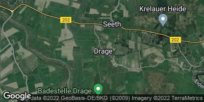 Google Map of Drage